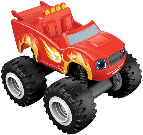 blaze and the monster machines pack x4 modelos bunny toys