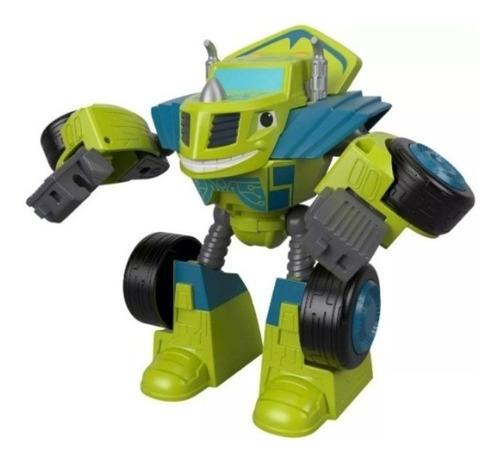blaze robots transformables - zeg - fisher price ftb93-ftb94