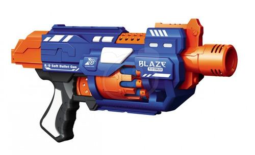 blaze storm 7033 pistola lanza + dardos 20 dardos tipo nerf