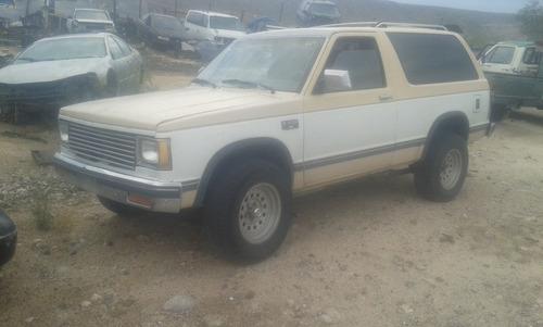 blazer 1985 se vende solo por partes