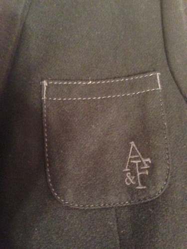 blazer abercrombie azul 100% original pronta entrega tam m