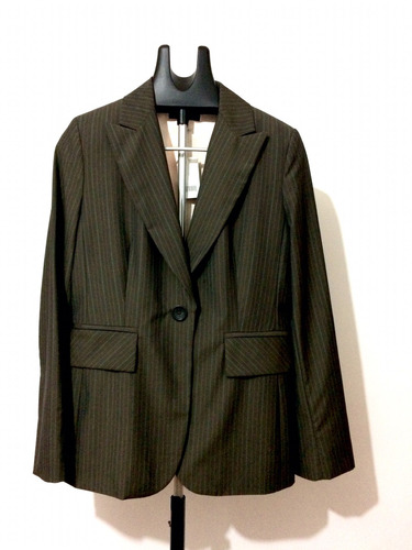 blazer banana republic xl c/etiquetas cafe regular fit