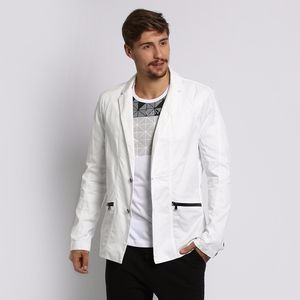Blazer Branco Preto Gg Calvin Klein Original Super Promocao - R  459 ... 5f1759da6d