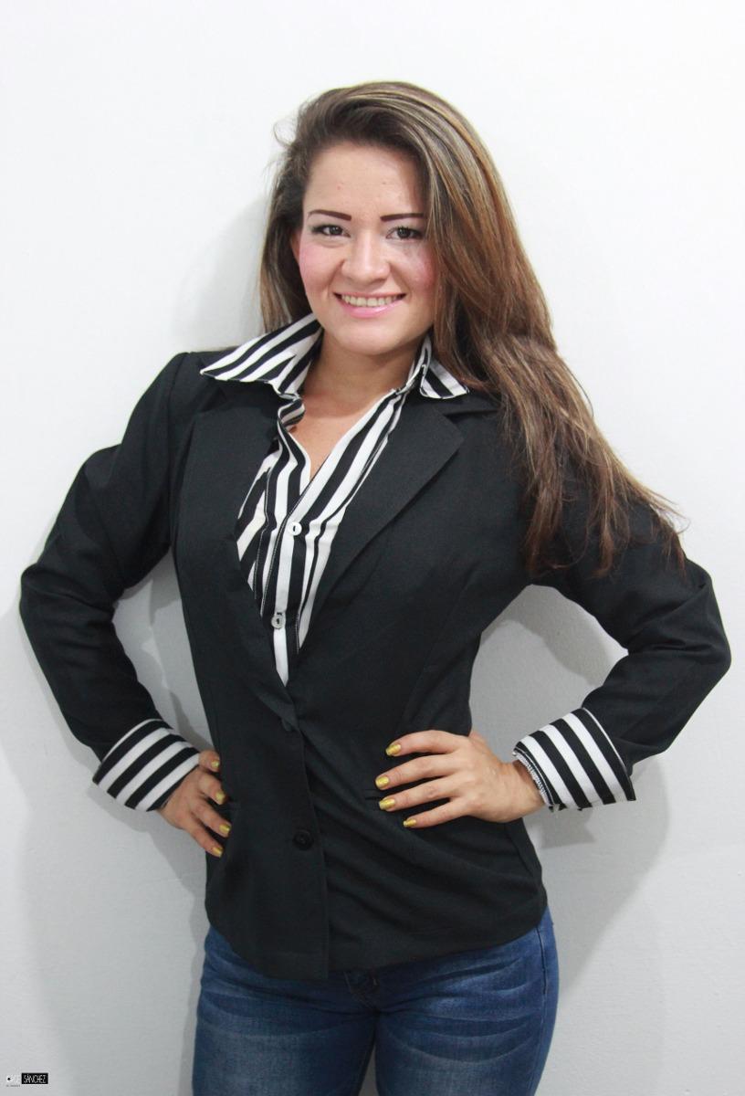 blazer caribe para dama - uniformes empresariales. Cargando zoom. 695100de19c3