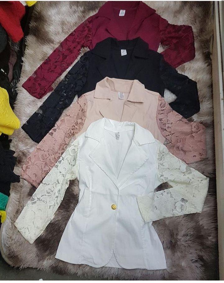 41e787e025 blazer casaco feminino manga renda guipir roupas femininas. Carregando zoom...  blazer casaco feminino roupas. Carregando zoom.