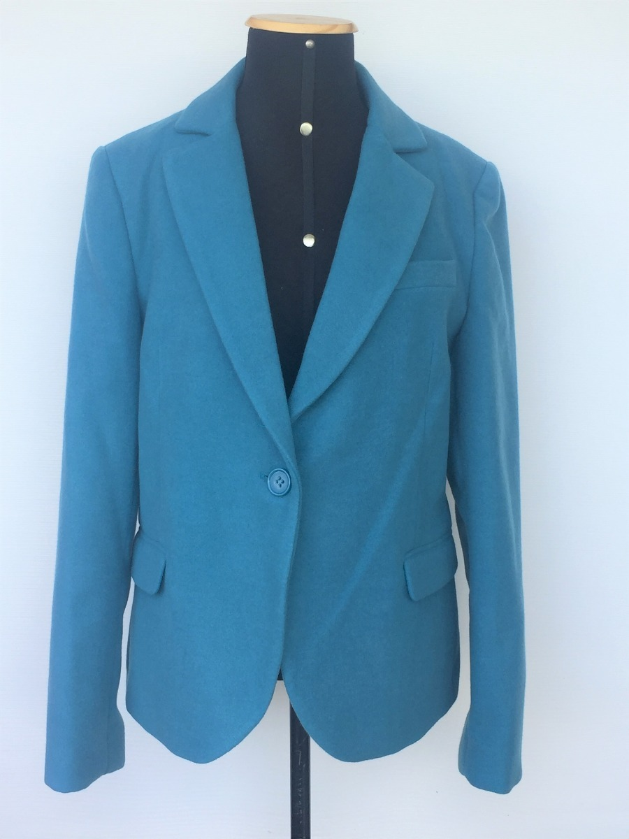 a03834bcdd blazer casaco feminino siberian azul petróleo tam.44. Carregando zoom.