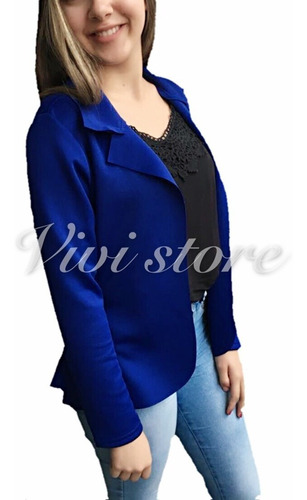 blazer casaquinho neopreme feminino terninho formal fornece