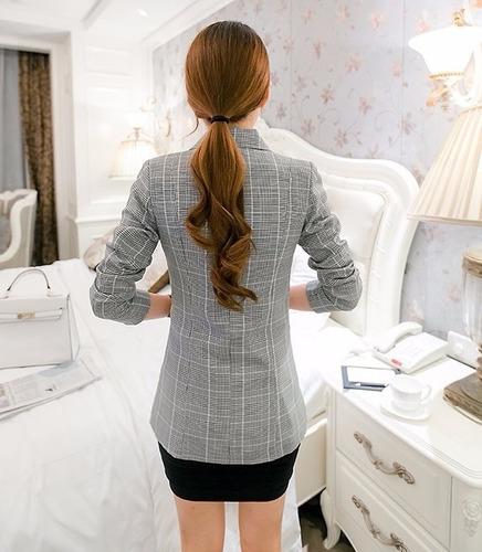 blazer chaqueta mujer forrada cruzada talla xl pequeña
