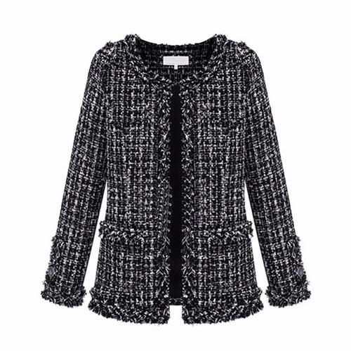 blazer chaqueta mujer lanilla