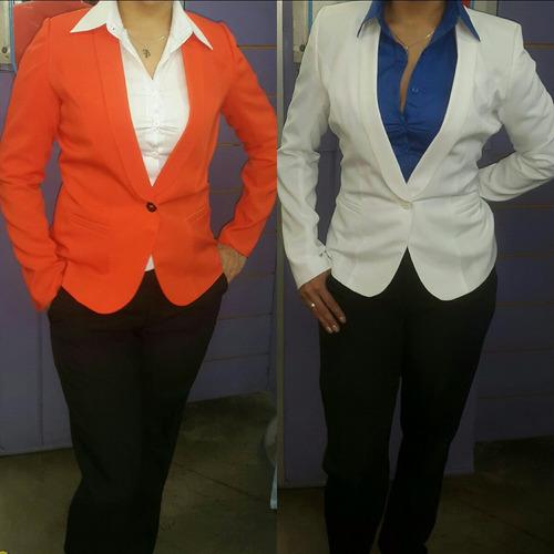 blazer chaqueta stilo smoking para damas elegantes