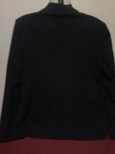 blazer dama azul marino