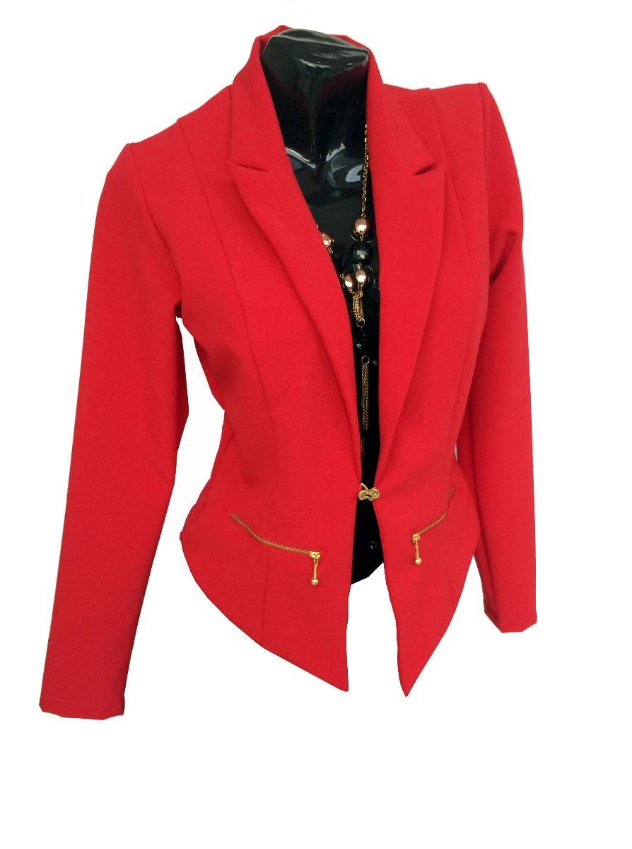 15059df239225 Blazer Dama Elegante Mujer -   50.000 en Mercado Libre