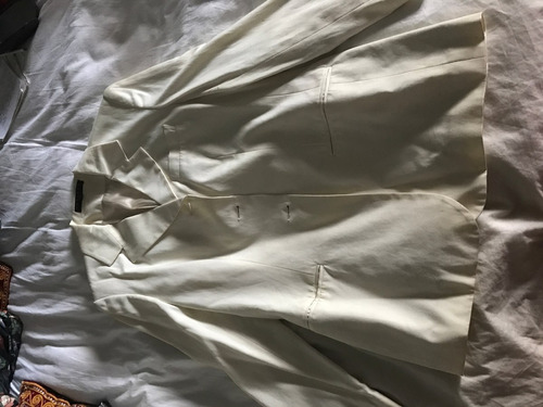 blazer de algodon mujer