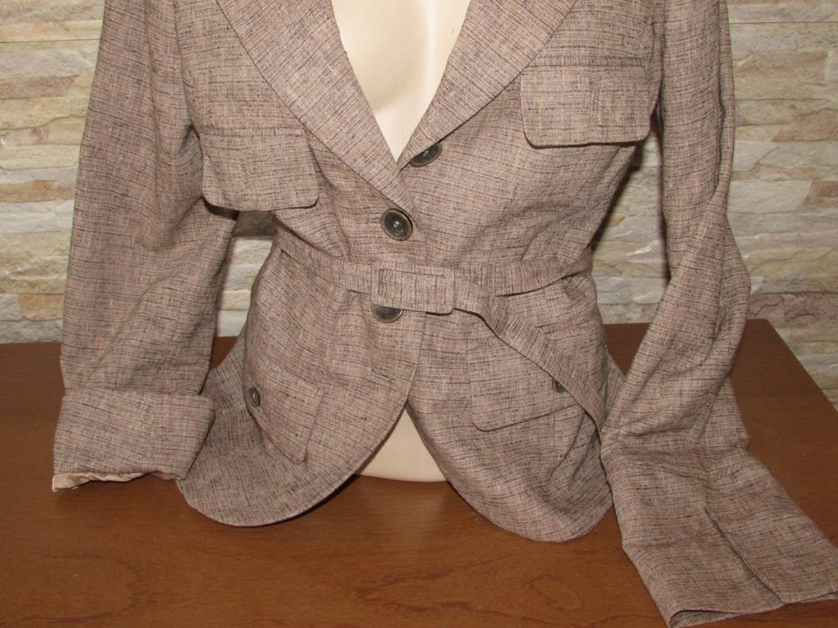 e42be82be1 blazer de linho p casaco de frio h m original. Carregando zoom.