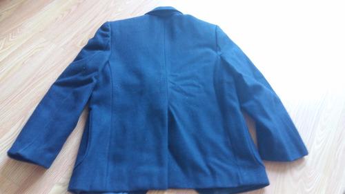 blazer escolar azul marino