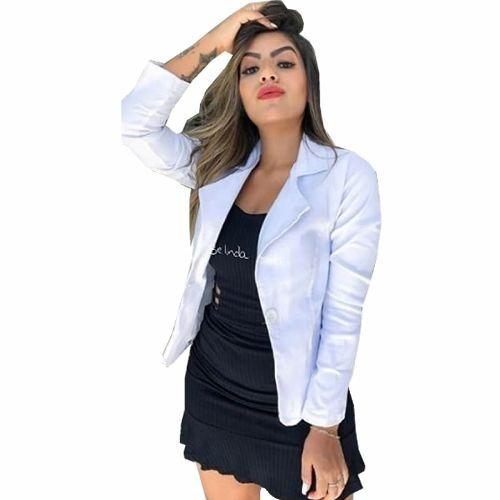 f534828c14 Blazer Feminino 344+ Blazer Longo 793+ 635 Camisa Jeans -821 - R ...