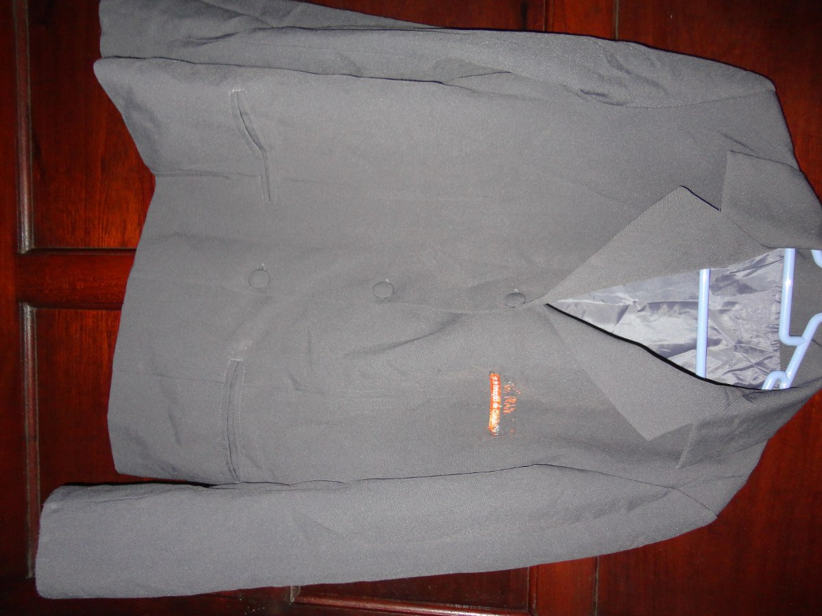 b91b314bb Blazer Feminino Cinza Chumbo - R$ 18,00 em Mercado Livre