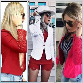 669beae831 Blazers Femininos Com Renda - Blazer para Feminino Amarelo no Mercado Livre  Brasil