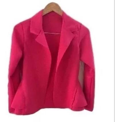 blazer feminino neoprene casaquinho terninho pronta entre