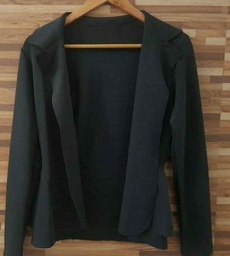 blazer  feminino neoprene cores lançamento # b06