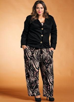 00be190723 Blazer Feminino Plus Size -bege -preto -marrom Gg