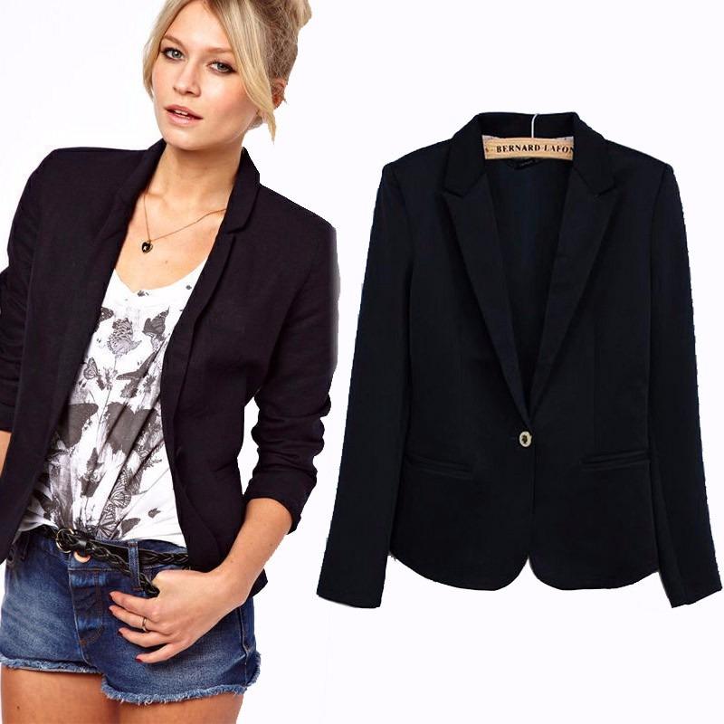 7c9232f961 blazer feminino preto forrado   casaquinho barato. Carregando zoom.