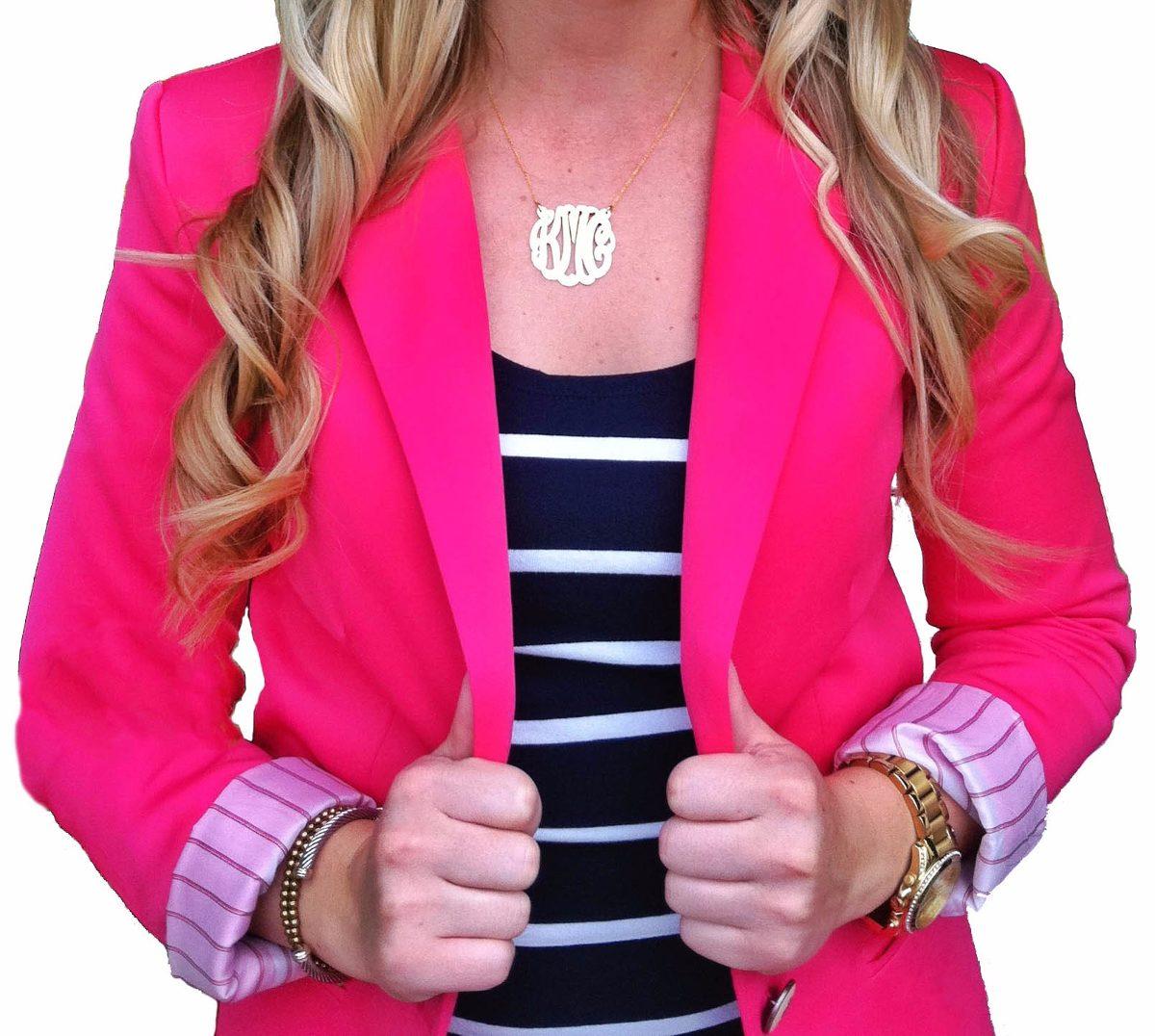 a921f87666 blazer feminino rosa da zara   casaquinho forrado barato. Carregando zoom.