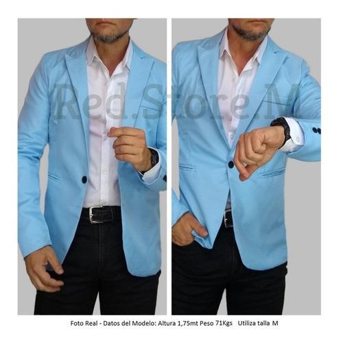 blazer hombre corte slim fit (entallado 2)