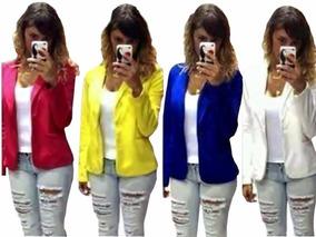 e7dc06cd13 Paraguai Linda Jaqueta Frete Gratis Casacos - Blazer para Feminino Preto no  Mercado Livre Brasil