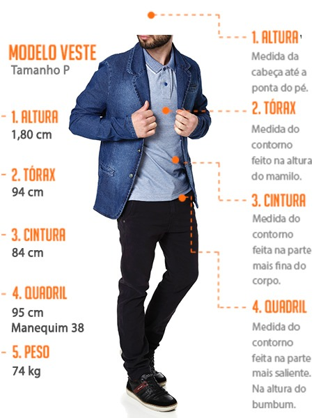 41a87ac58 Blazer Jeans Masculino Bivik Azul - R  139