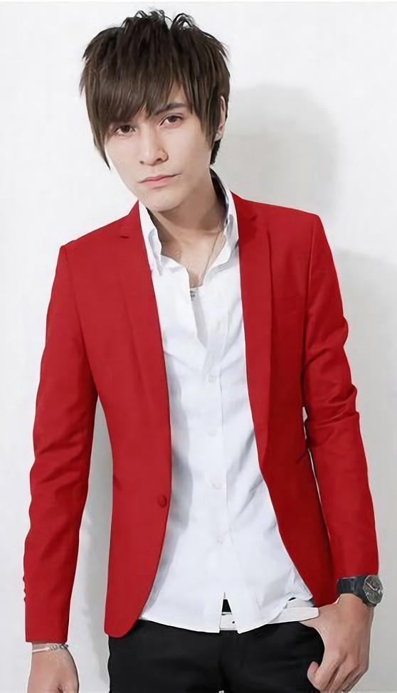 ec3ee3e075c37 Blazer Juvenil Rojo Casual Para Hombre Envio Gratis 2018 -   119.900 en  Mercado Libre