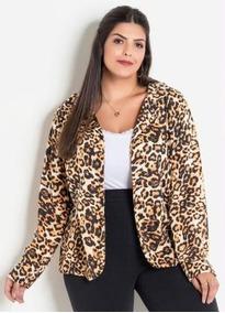 98464b73c0 Blazer Feminino Plus Size Xxg - Calçados