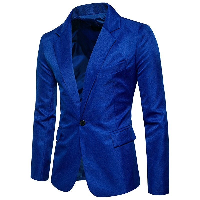 c7c257e2d7 blazer masculino azul eleganceman - formal   casual cod.bl17. Carregando  zoom.