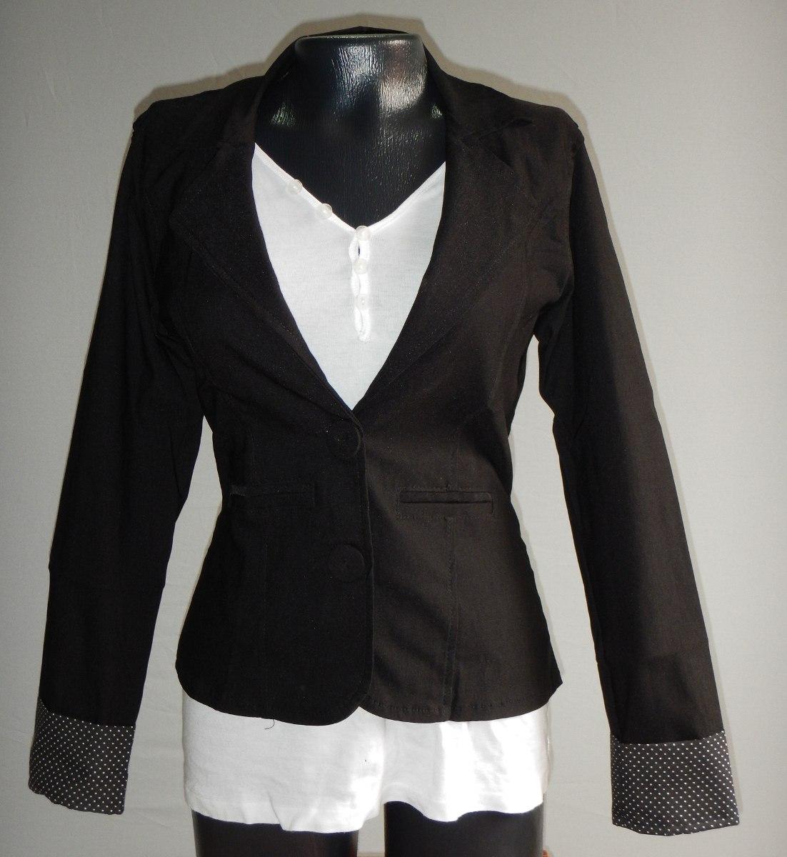 Blazer Mujer Chaqueta Danastore -   49.900 en Mercado Libre ec0d2213561
