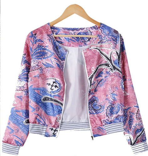blazer mujer chaqueta floral fashion casual jacke disponible