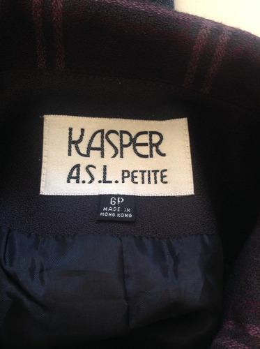 blazer mujer.  kasper for a.s.l