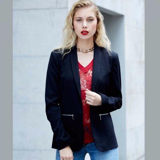 81378e2f4003a Blazer Mujer Moda Eternamente Elegante Estilo Regalo Novia ...