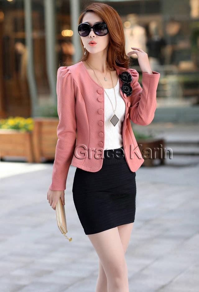 d3c9640f21325 Blazer O Saco Casual Para Dama Rosa Pastel -   300.00 en Mercado Libre