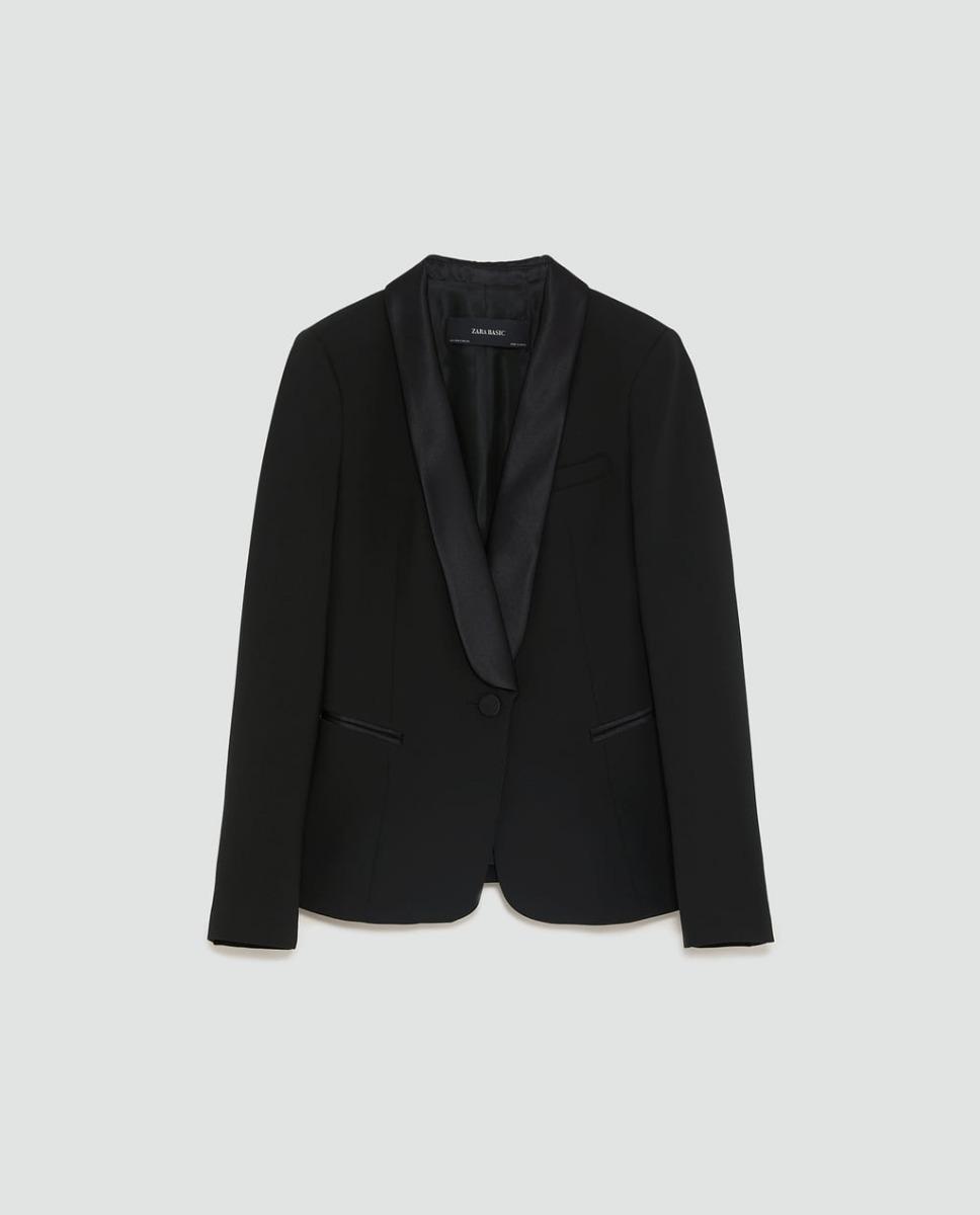 f2087f1a15 blazer preto feminino casaco sofisticado zara lindissimo. Carregando zoom.