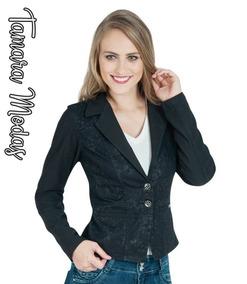 d9b51862f0 Blazer Jeans Feminino Femininos - Casacos no Mercado Livre Brasil