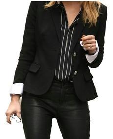 sitio oficial siempre popular personalizadas Blazer Saco Mujer Bengalina Elastizada Talles Grandes 2/9