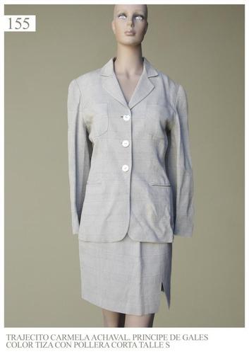 blazer saco trajecito traje mujer barata feria americana gri