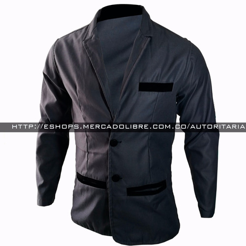blazer slim fit chaqueta diseño exclusivo forro interno