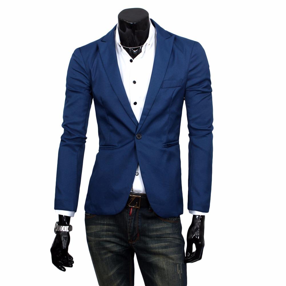 8ed7dd2206 blazer terno masculino azul marinho m. Carregando zoom.