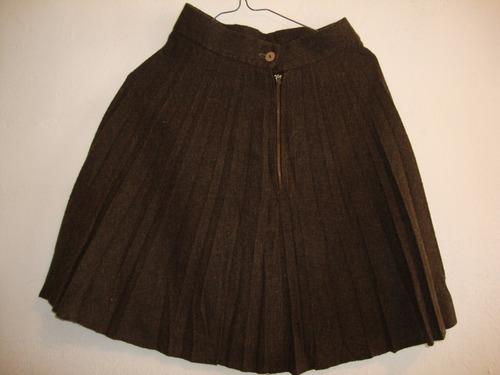 blazer traje elegante conjunto con falda talla m
