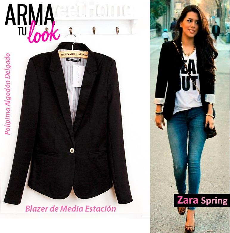 3313583b1 Blazer Arma Look Mujer Tu Verano Zara Spring S Primavera Saco 75 orxdBeC