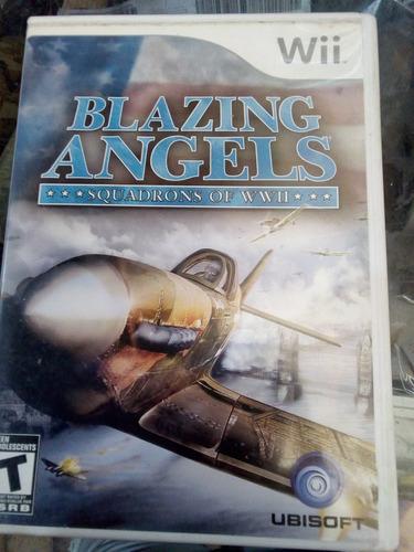 blazing angels 1 / nintendo wii & wii u original