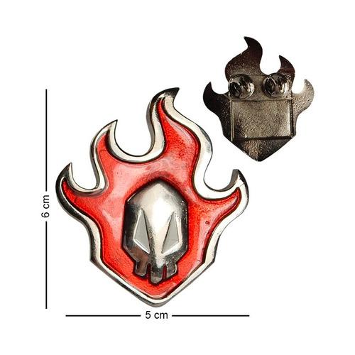 bleach pin emblema flama ichigo hokage de la mejor calidad