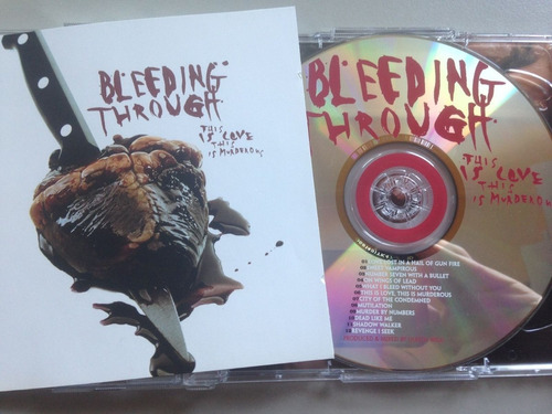 bleeding through - this is love this is murderous importado