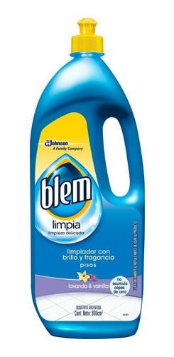 blem 3 en 1 vainilla & lavanda x 900ml - 3 unidades